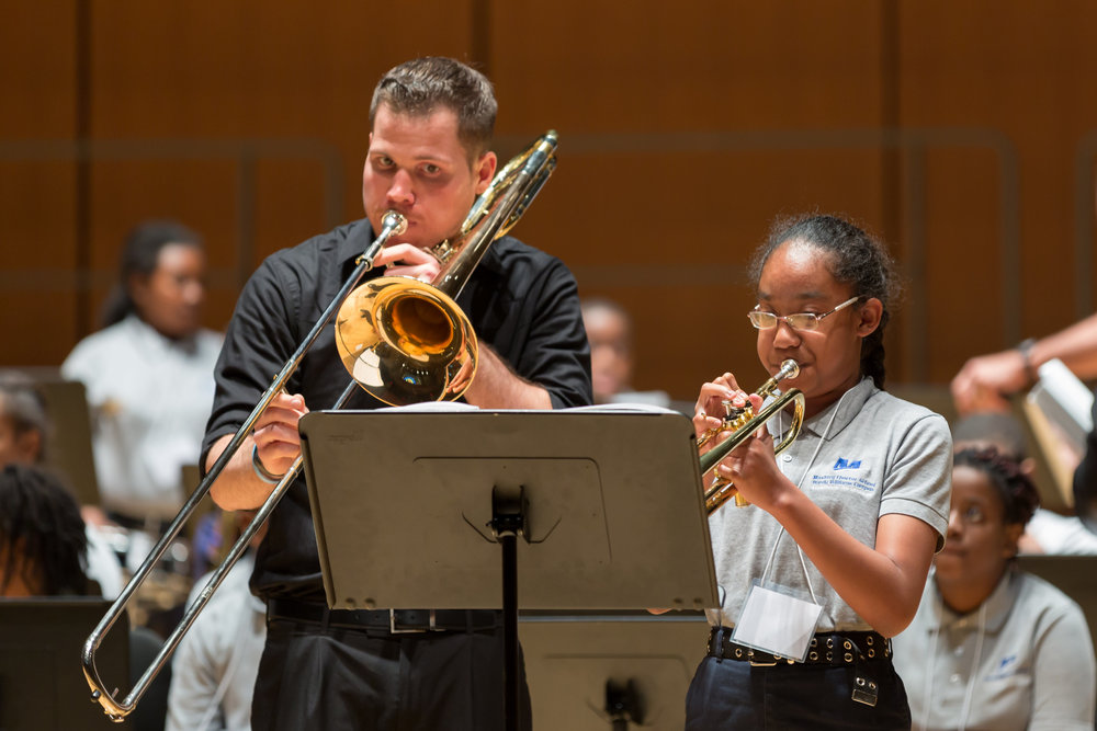 Click the image to read about Greg Tsafos, brass faculty member, and link to our #facultyfriday blog to learn about more of Settlement's outstanding teachers.