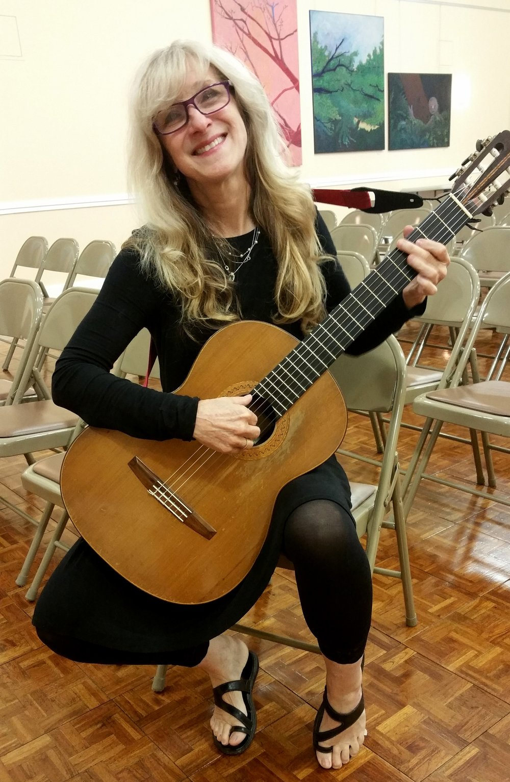 Andrea Carlson Guitar faculty at the Germantown and Willow Grove Branches Faculty member since 2007