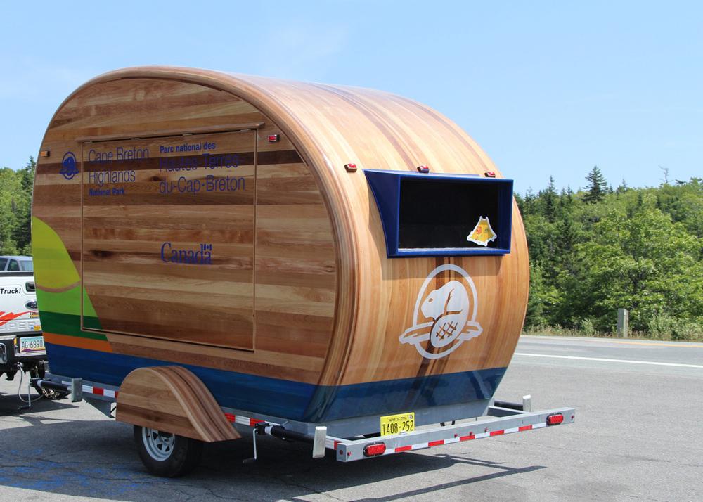 Parks Canada Mobile Visitor Information Kiosk