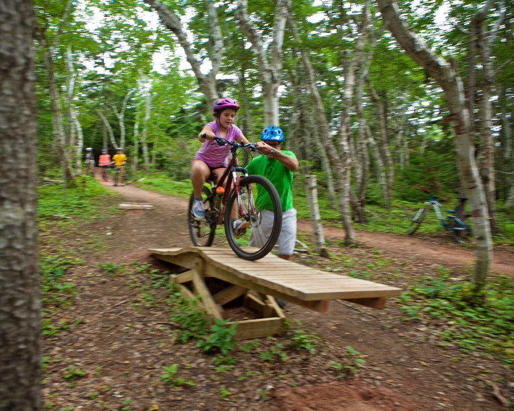 Once a thriving campground on PEI's north shore, Robinsons Island has been repurposed as a day-use nature park with features to help people learn to bike.