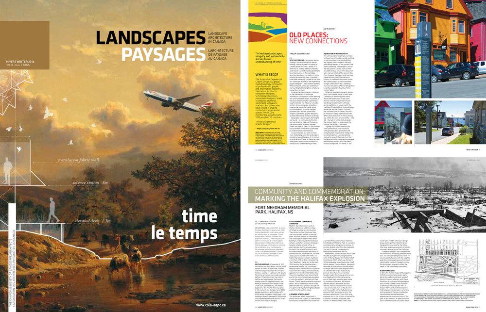 Landscapes/Paysage