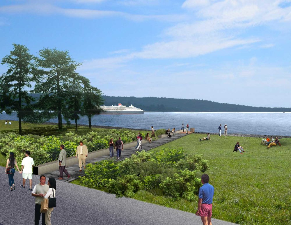 Eastern Shoreline - Proposed Improvements