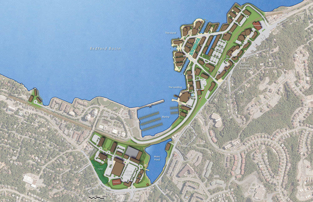 Bedford Basin - Proposed Plan