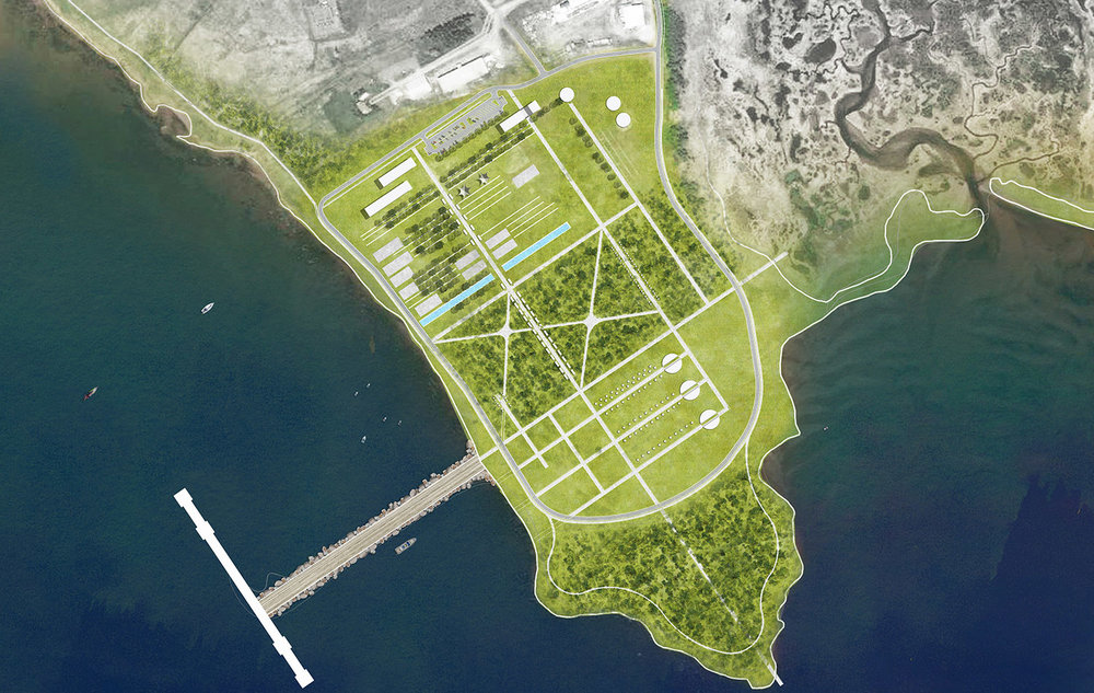 Plan: The Fabrication Yards re-envisioned.