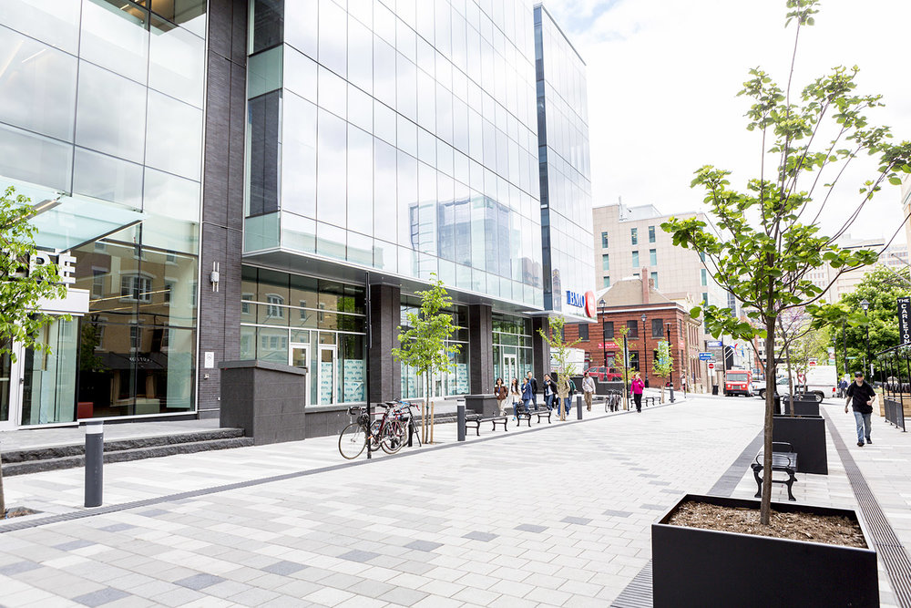 The recently completed Nova Centre and future hotel bring visitors to the heart of Halifax.