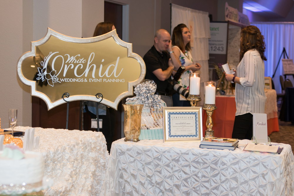 White Orchid Weddings at the Beloit Wedding Showcase