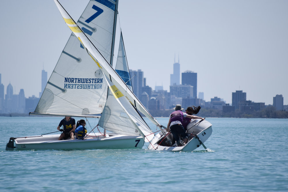 5/5-5/6 NU Spring - We hosted the final MCSA regatta of the season,  the NU Spring regatta! NUST had a lot of fun sailing at home in the warm weather. Thanks to everyone for coming out!
