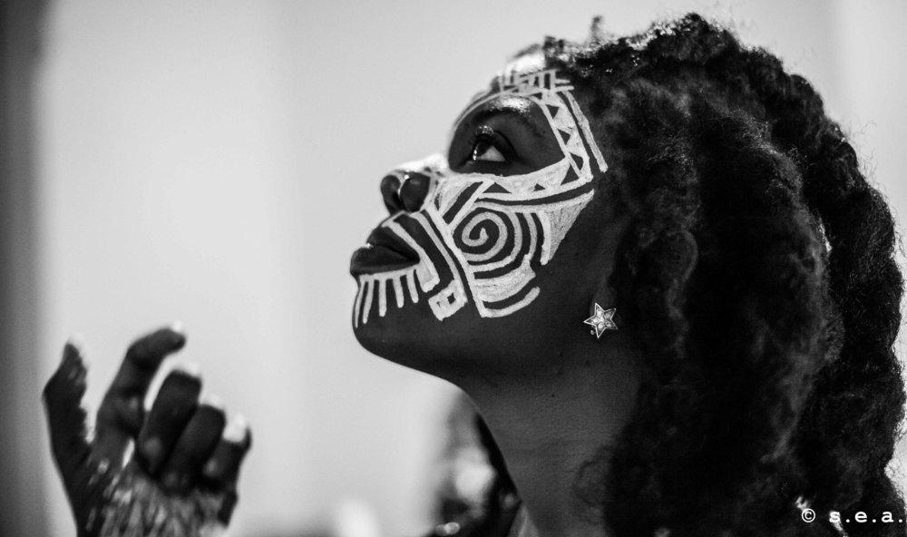 Laolu Senbanjo's  Afrometrics