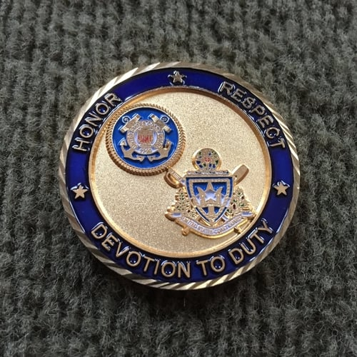 Master Chief Petty Officers — U S  Coast Guard Challenge & Command Coins