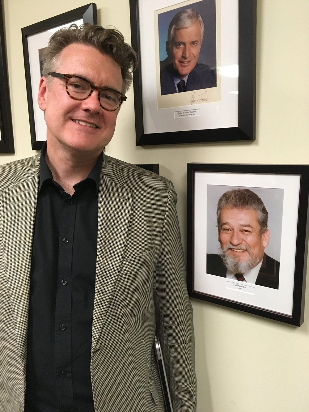 The current and previous Liberal MLAs for Saint-Boniface, Dougald Lamont and Neil Gaudry