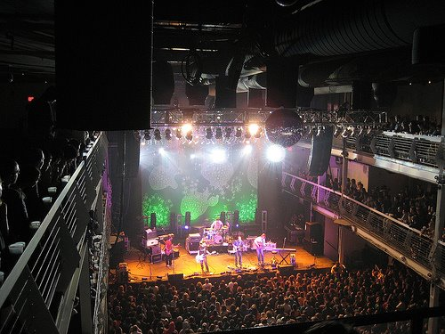 Club Exit, circa 2012. You may now recognize it as Terminal 5 in New York City.