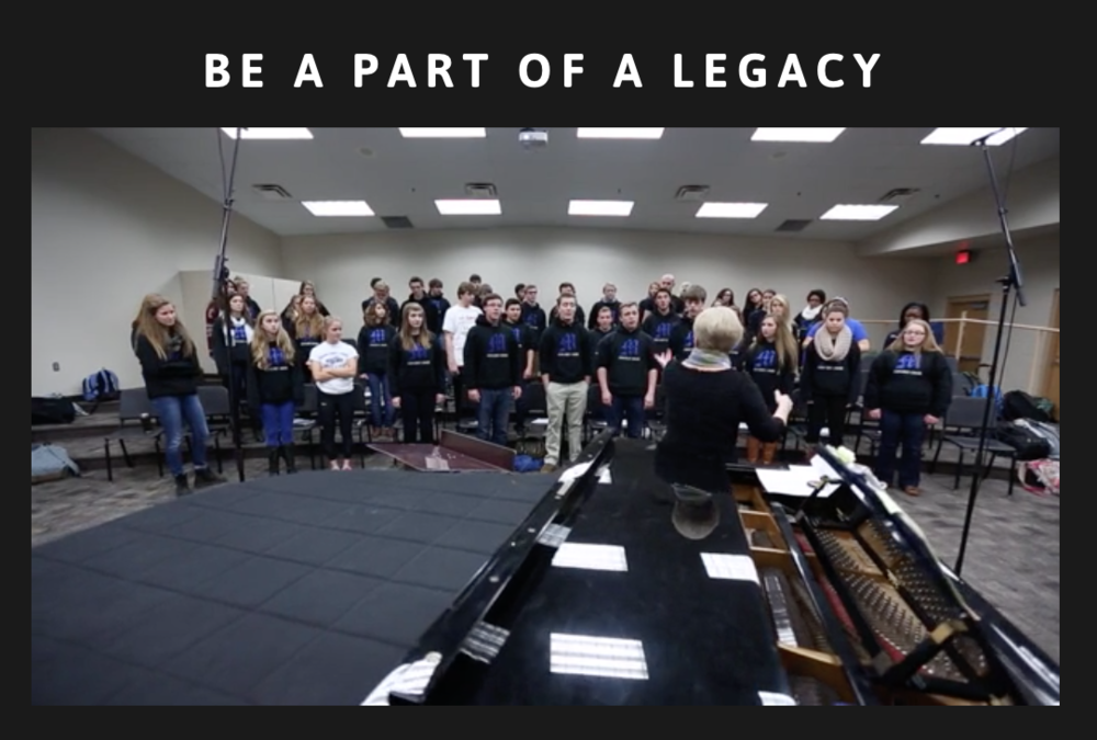 Affordable small business websites with video Minnetonka choirs