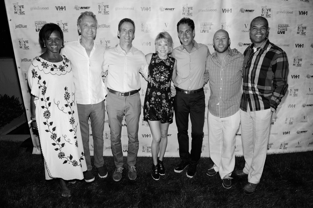 A few Board Members at the VH1 Save The Music Hamptons LIVE event.