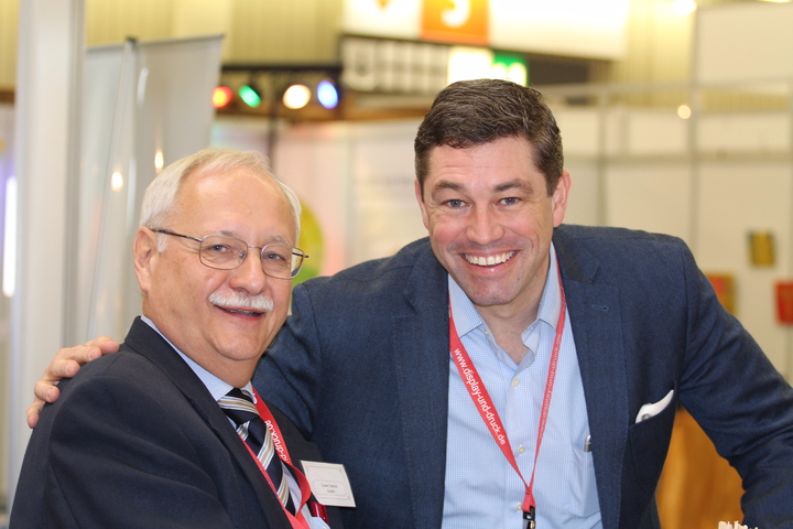 Crown President, Robert Dickie, meets with ministry leaders at the European Christian Congress in Nuremberg, Germany.