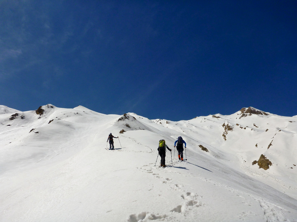 Ski touring in Alborz