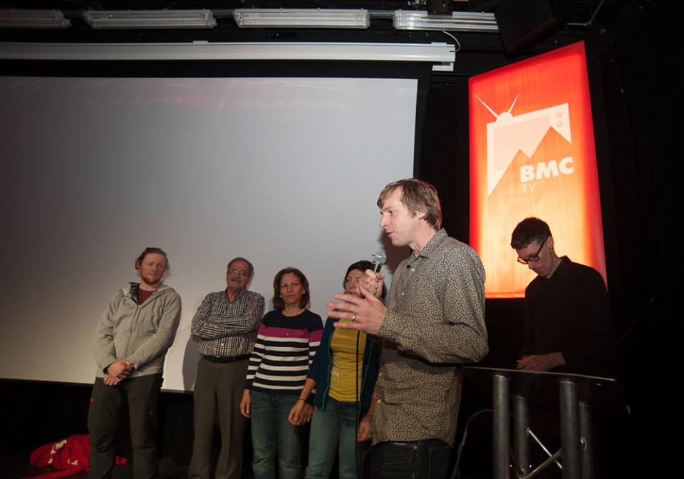 Matt, dad, mum, me, Paul and Nial at BMC TV event, Kendal