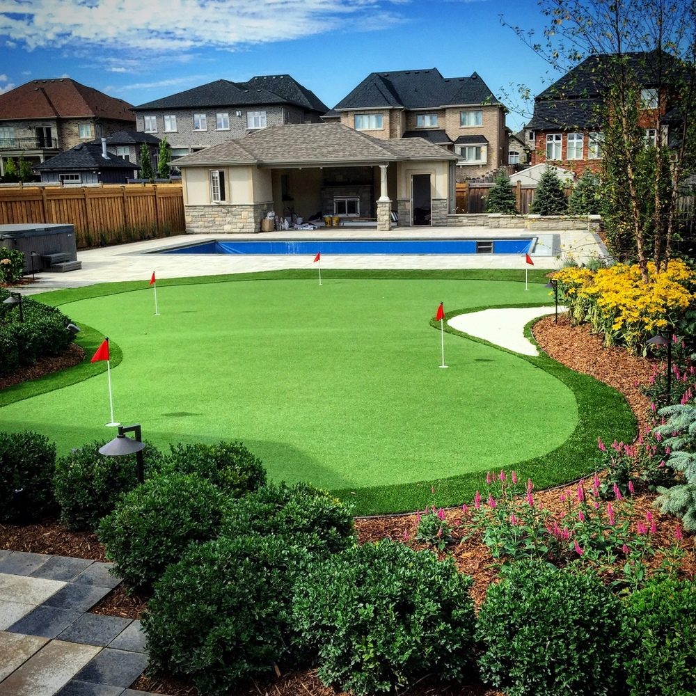 Putting Golf Pins Rymar Synthetic Artificial Grass