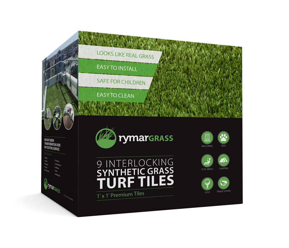 Interlocking Turf Tiles By Rymar
