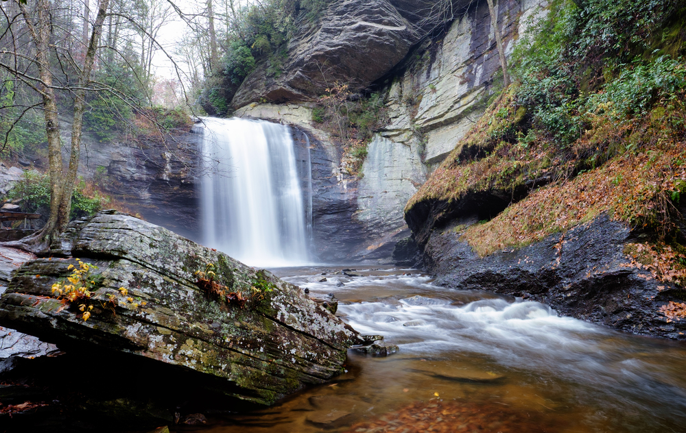 Looking Glass Falls, Pisgah Forest