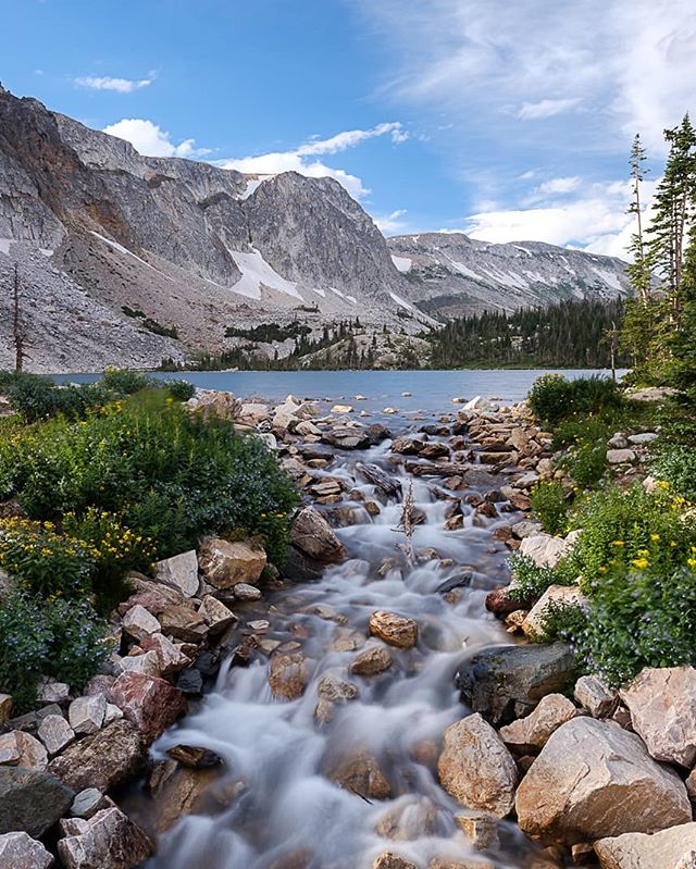 In the beginning, the water was clean. . . . . . . . .  #naturephoto #main_vision #landscape_captures #awesome_earthpix #natureaddict #rsa_rural #awesomeearth #nature_wizards #gottalove_a_ #nature_brilliance #EarthVisuals #artofvisuals #welivetoexplore #natureaddict #naturediversity #ourplanetdaily #earth_deluxe #instanaturelover #nature_prefection #allnatureshots #wyoming #longexposure #river #lake #fujifeed #myfujifilm #fujixclub #fujiframez