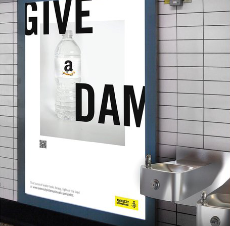 Amnesty International - D&AD New Blood Pencil (2016)See work.