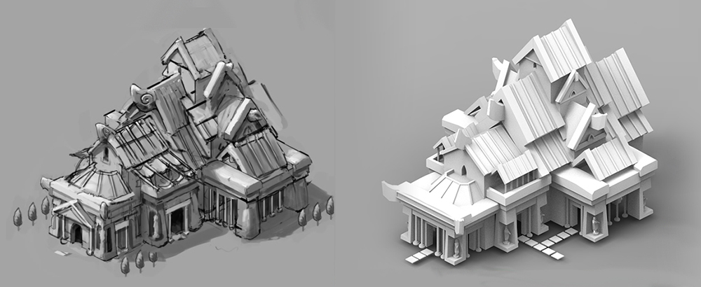 Palace Concept and Render