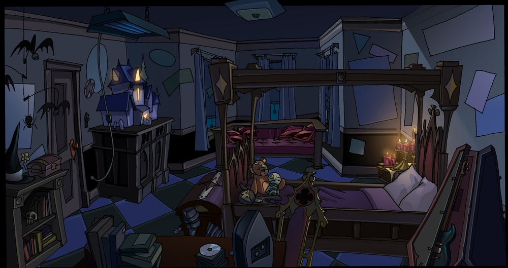 Goth Room Concept