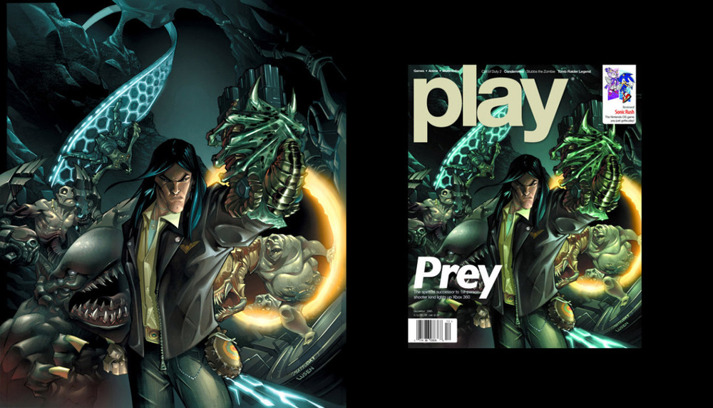 Play Magazine: Prey Cover