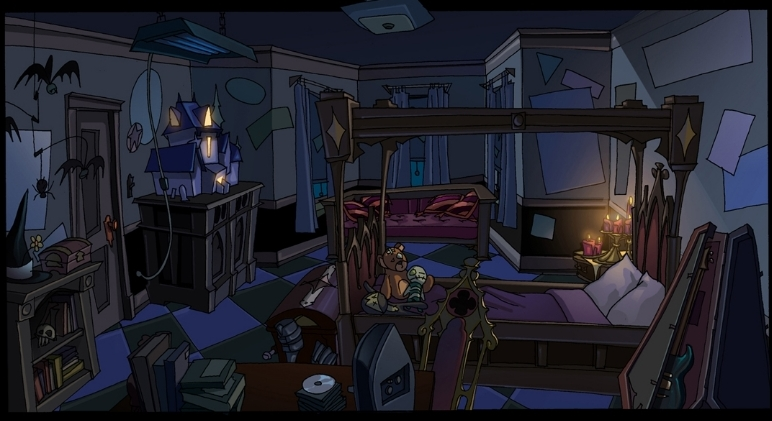 Lively: Goth Room Concept