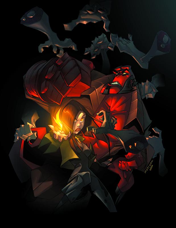 Hellboy: Phantom Limbs Cover