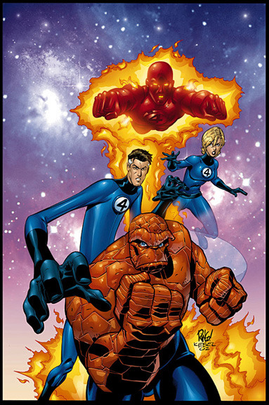 Wizard Magazine Fantastic Four Cover