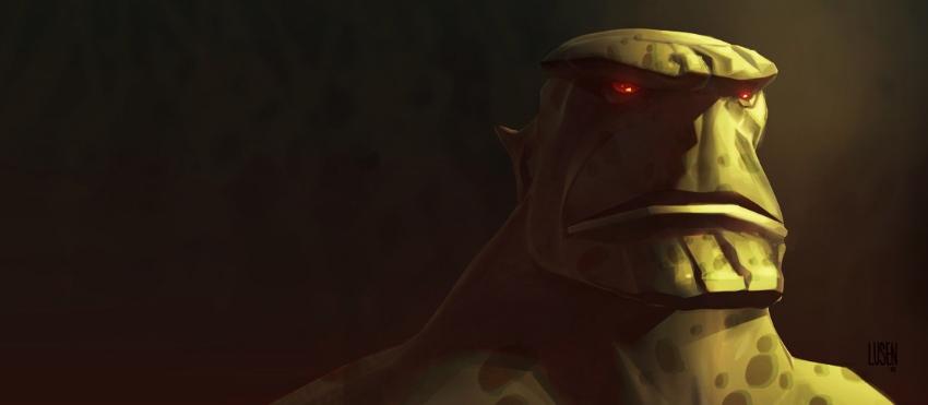 Alien Head Bust