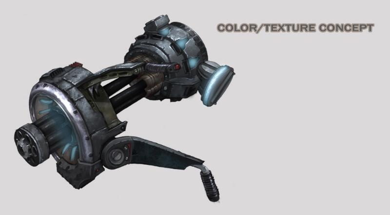 Heavy Gun Concept