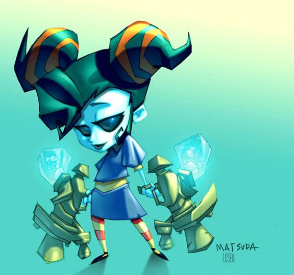 Death Jr. Pandora Concept