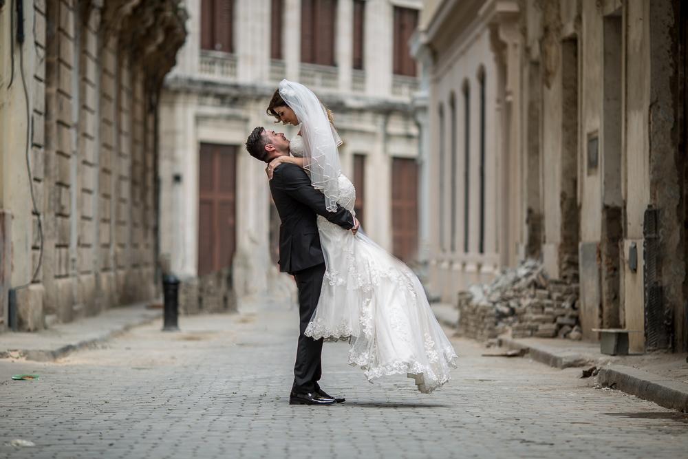 Havana Cuba Destination Wedding Shoot