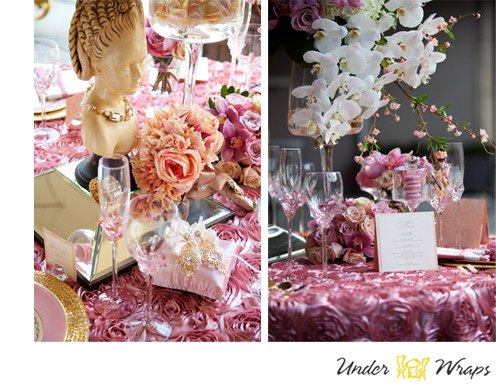UNDERWRAPS DECOR - DECOR    Stella and Julie are driven by the passion they share for stunning weddings and event planning. Their ability to mix ideas, styles and trends has allowed them to move into the forefront of the event planning business.     CLICK HERE  to contact Underwraps Decor