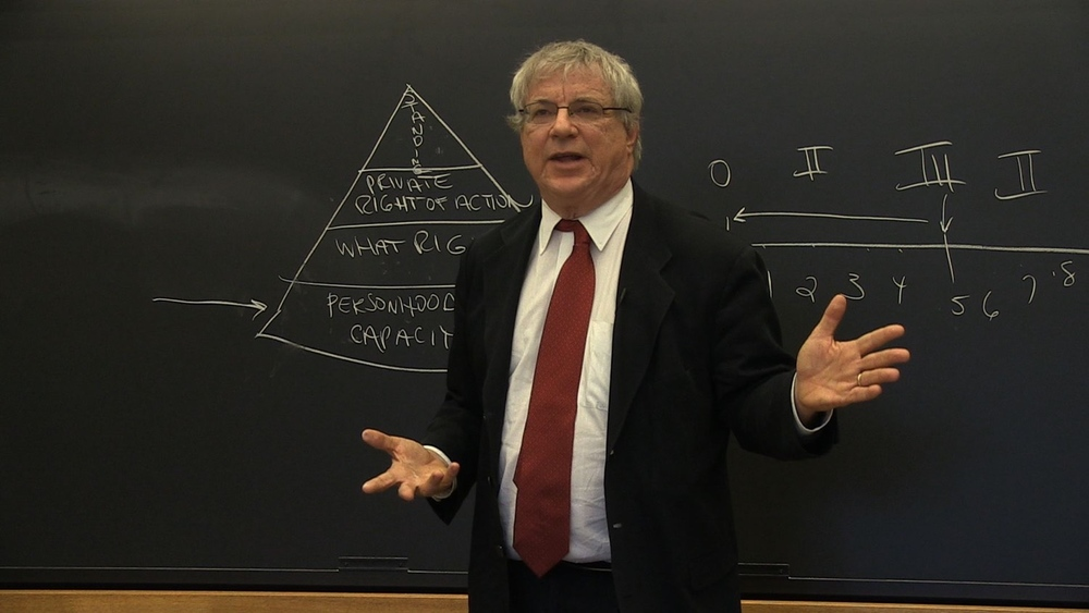 Steve Wise at Harvard