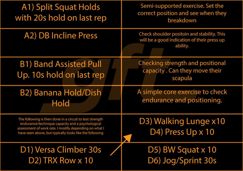 Functional Movement Assessment