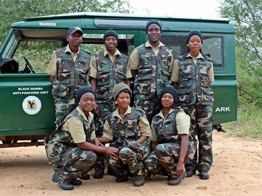 A top NGO we support, The Black Mamba Anti-Poaching Unit won the United Nations top ENVIRONMENTAL award for their work.