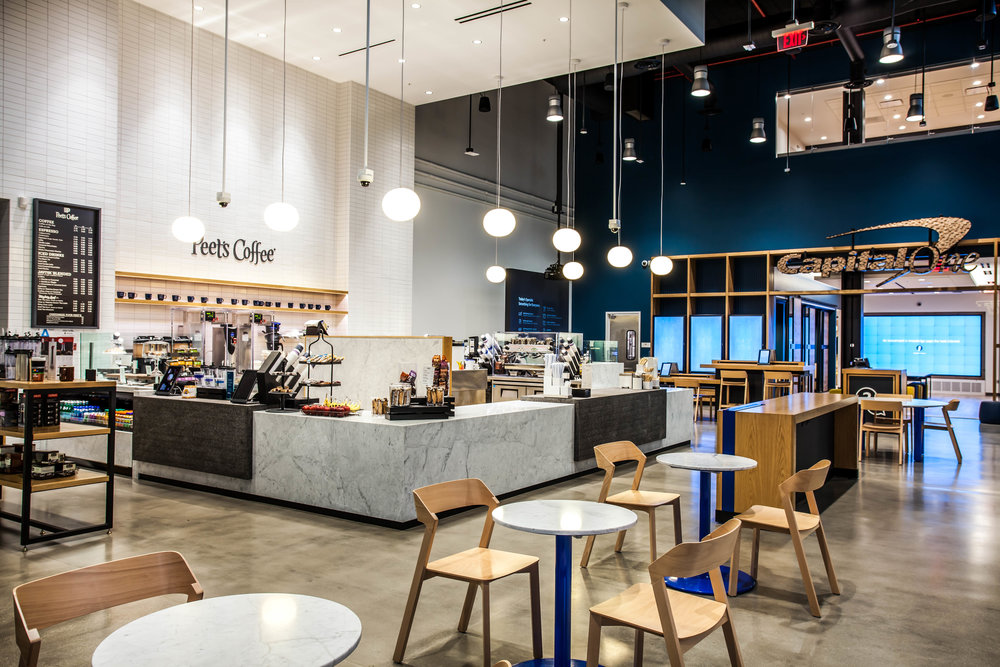 Vision: Banking reimagined - Capital One radically shifted its brick and mortar strategy to reimagine the entire banking experience in a cafe environment in [2013]. Capital One Cafés were rolled out quickly over the past few years.