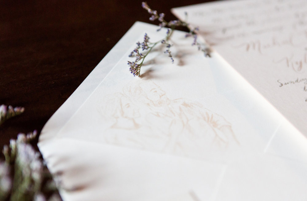 white-flowers-hidden-garden-los-angeles-wedding-heirloom-paper-invitations-the-garland-envelope-liner