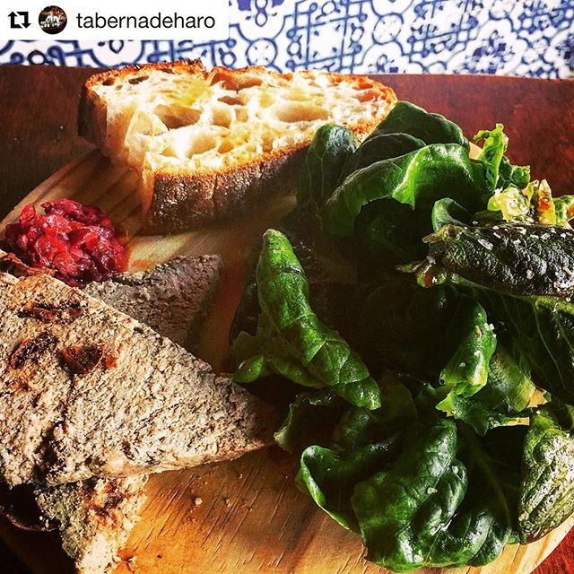 Love seeing our greens on a new plate and thrilled to be working with @tabernadeharo in Brookline! ・・・ Salad w tiny lettuces from @greenlinegrown , duck liver pate, fresh cherry relish, and @iggysbakery toast. #specialsalad #pate #goodfood @straightlawbar  #Repost @tabernadeharo with @repostapp