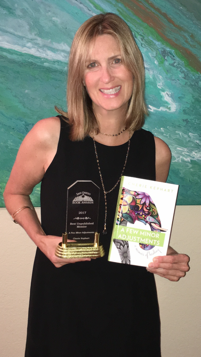 San Diego Book Awards Winner!