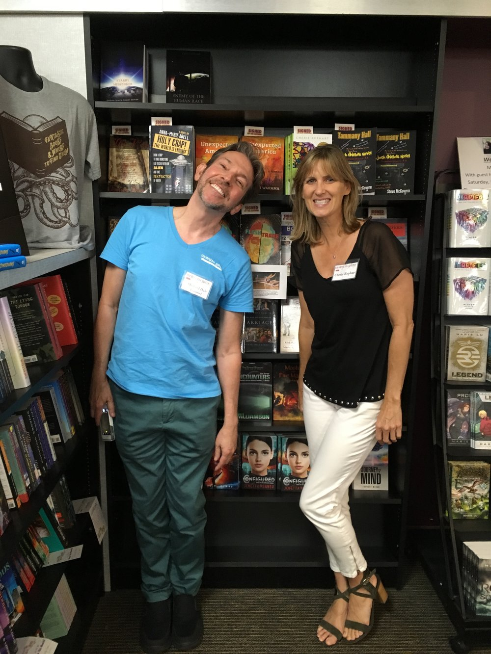 Mysterious Galaxy Bookstore - Local Author Day