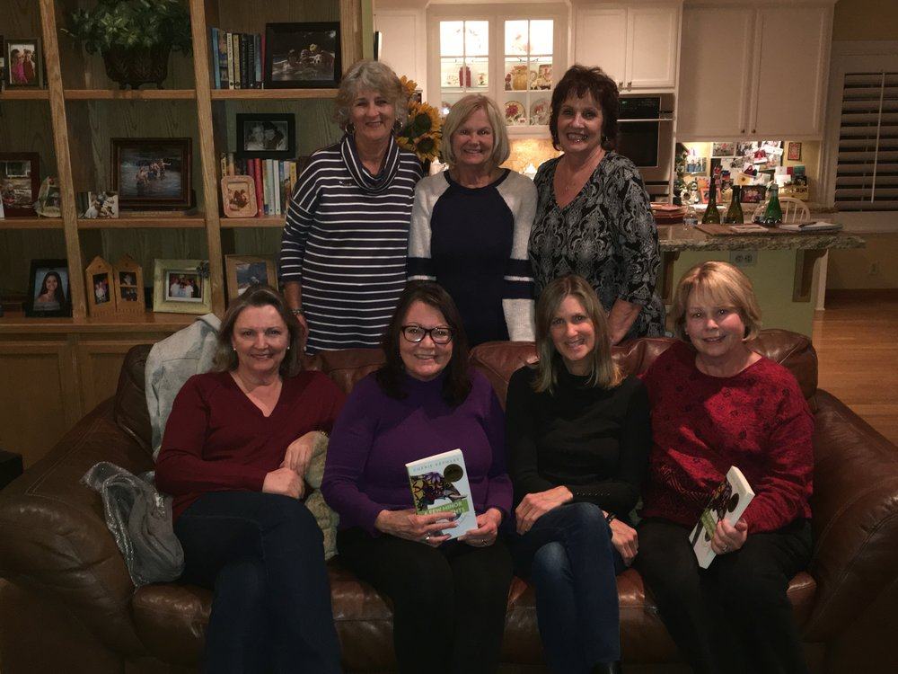 Guest Speaker at the Finches Book Club