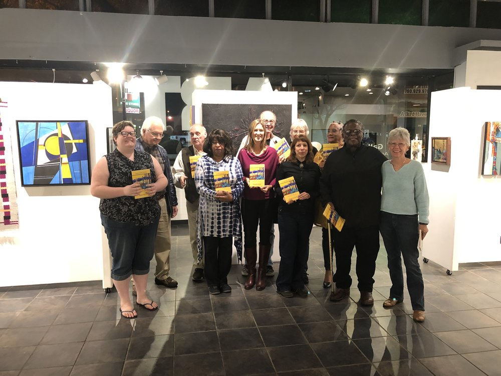 Escondido Poetry and Art Anthology Release, 2018