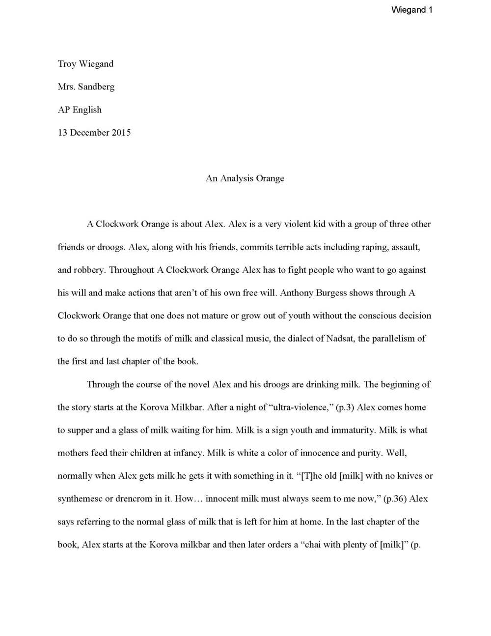 a booktalk orange troy wiegand an anlysis orange page 1 jpg
