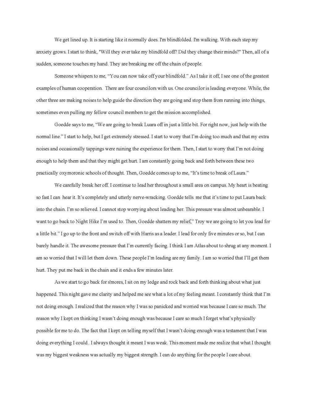 entrance essay college entrance essay troy wiegand cover letter  also college entrance essay troy wiegand actual writing sample google docs page