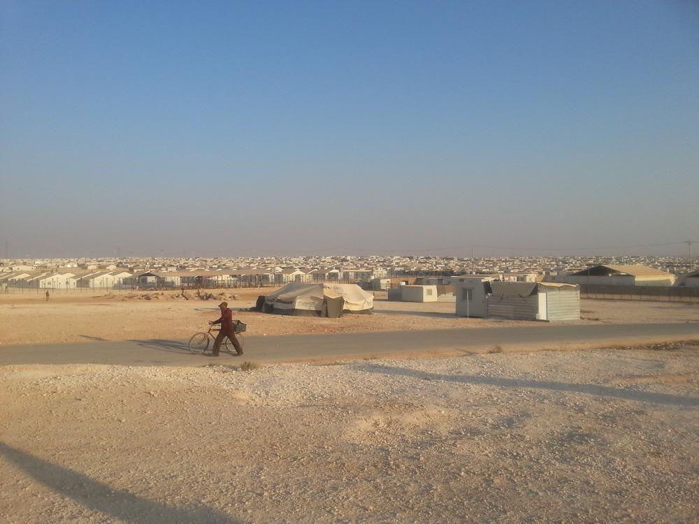 Zaatari camp, Merve Bedir, Zaatari, Jordan, 2014