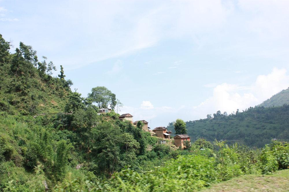 Figure 1: Nepal landscape. (Photograph by Lise van Overbeeke)